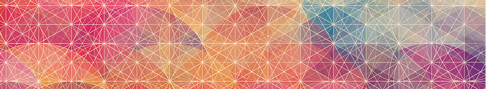 header - geometric shape